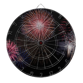fireworks christmas new year dartboard