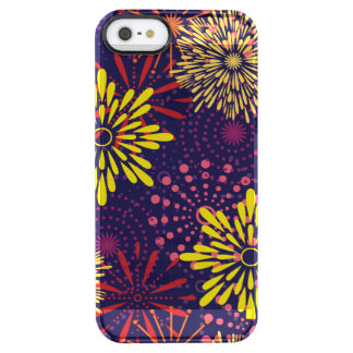 Fireworks Clear iPhone SE/5/5s Case