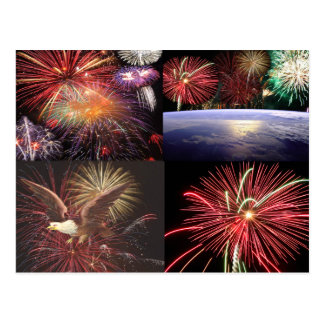 Fireworks Collection Post Cards