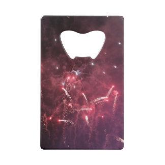 Fireworks Credit Card Bottle Opener