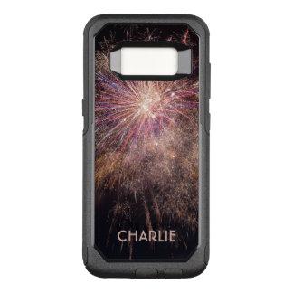 Fireworks custom monogram phone cases