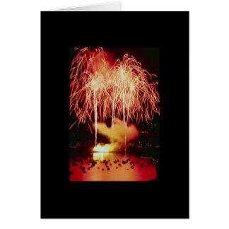 Fireworks Designer Greeting Card