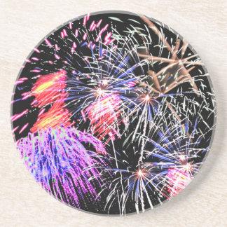 Fireworks Display Coaster