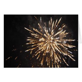 Fireworks Display Greeting Card