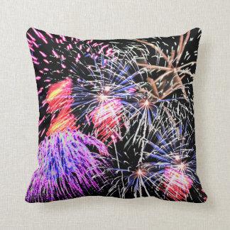 Fireworks Display Pillow