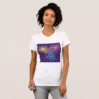 Fireworks Display Womens T-Shirt