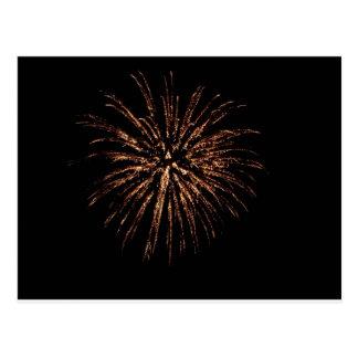 Fireworks Explosion Postcard
