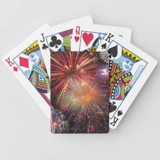 Fireworks Finale Bicycle Poker Deck