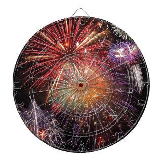 Fireworks Finale Dart Board