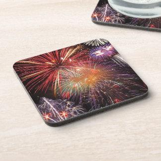 Fireworks Finale Drink Coaster