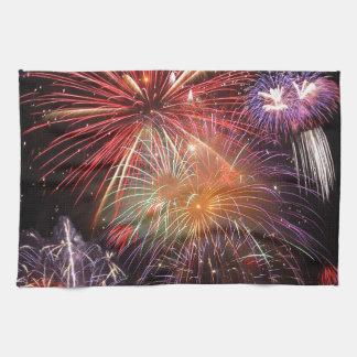 Fireworks Finale Kitchen Towel