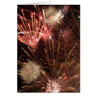 Fireworks (Greeting Card)