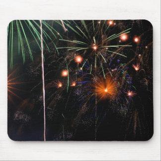 Fireworks II Mouse Pad