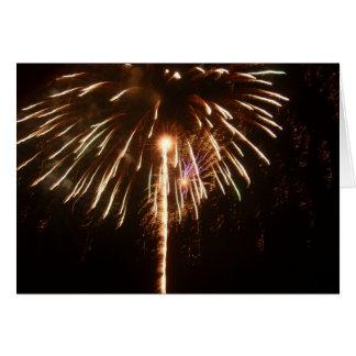 Fireworks in Nafplio Greeting Card