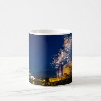 Fireworks in Rome Coffee Mug