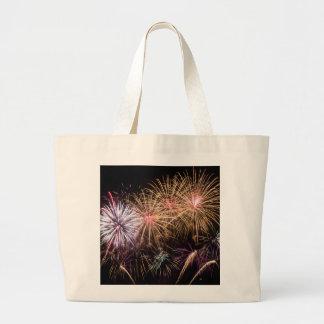 Fireworks Jumbo Tote Jumbo Tote Bag