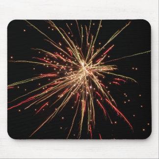 Fireworks Mousepad