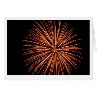 Fireworks Note Card