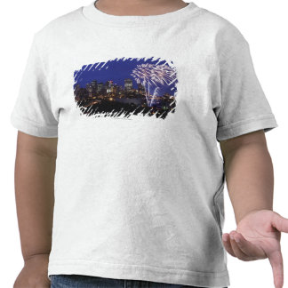 Fireworks Over The City Tshirt