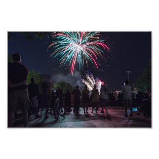 Fireworks Photo Print