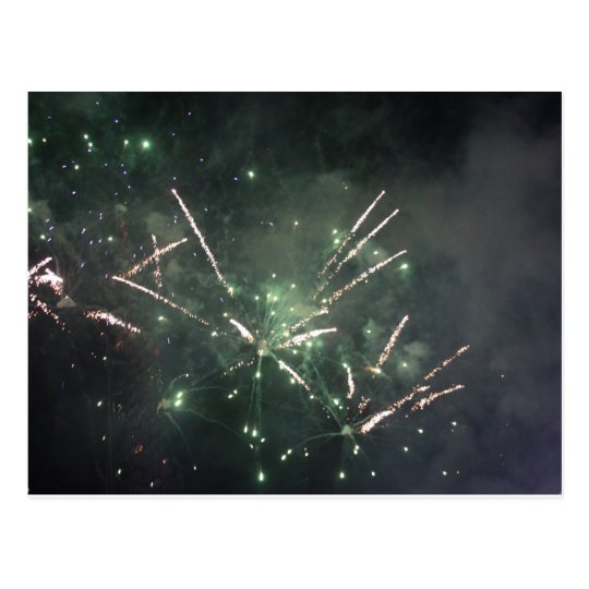 Fireworks Post Card
