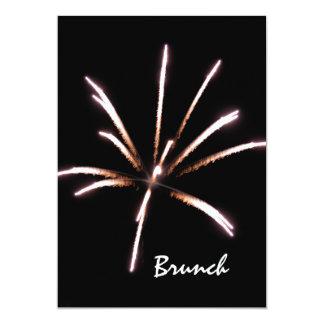 Fireworks Post Wedding Brunch Invitation