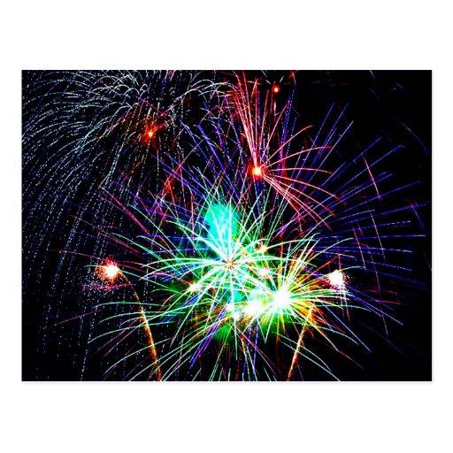 Fireworks Postcards