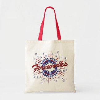 Fireworks Professional Tote Bag