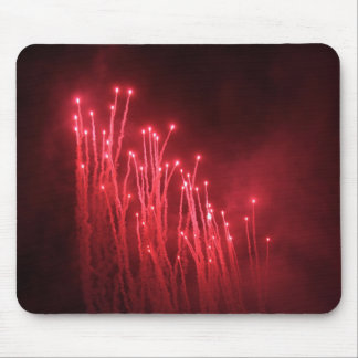 Fireworks Rockets Red Glare Mouse Pad
