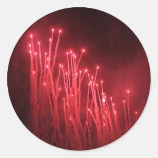 Fireworks Rockets Red Glare Stickers