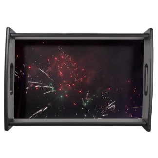 Fireworks Serving Tray