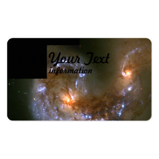 Fireworks Show in Collision of Antennae Galaxies Pack Of Standard Business Cards