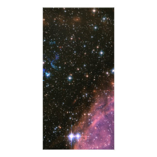 Fireworks Small Magellanic Cloud Personalized Photo Card