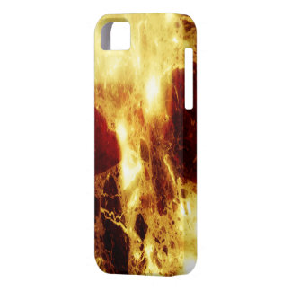 Firey marble iPhone 5 cases