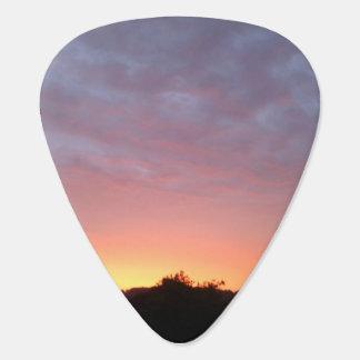 Fireycloud Sunset Guitar Picks Pack of Five Plectrum