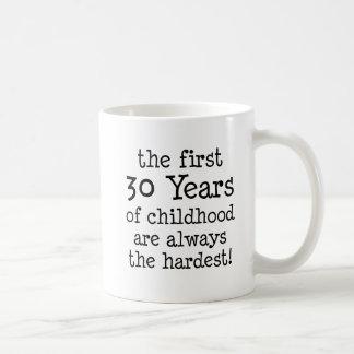 First 30 Years Of Childhood Coffee Mug