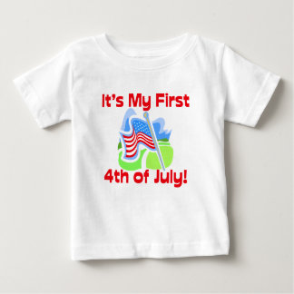 First 4th of July, Cute Baby T-Shirt