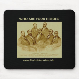 First African American Senator & Congressmen Mouse Pad