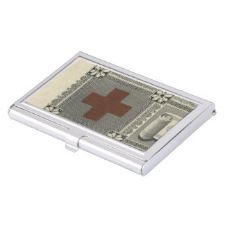 First Aid Certificate Business Card Holders