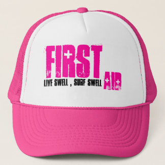 First, Aid, Girls Surf Hat