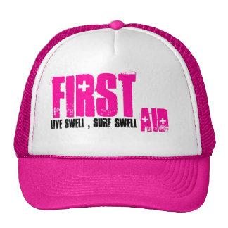 First, Aid, Girls Surf Hat
