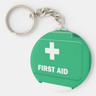 First aid kit design key chain