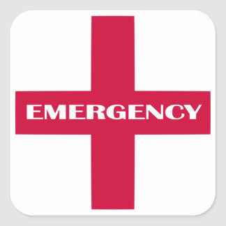 First Aid Supplies / Emergency Kit Stickers