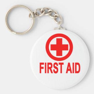 First aid Women's T-Shirts Key Ring