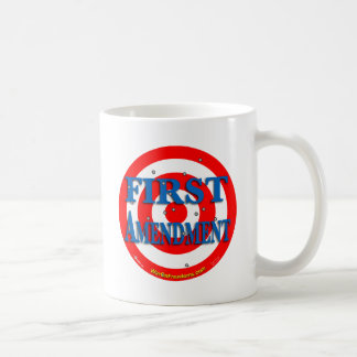 First Amendment Basic White Mug