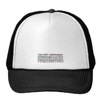 First Amendment Flag Mesh Hat