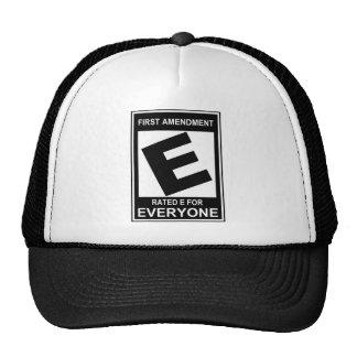 First amendment hat