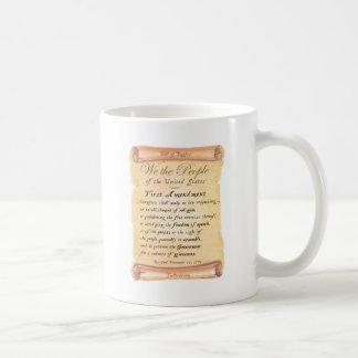 First Amendment Coffee Mugs