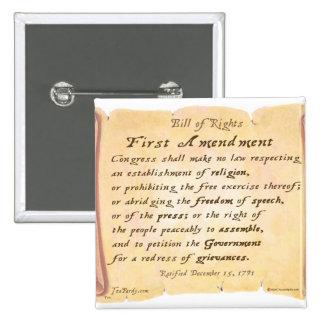 First Amendment Pin