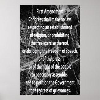 First Amendment Poster